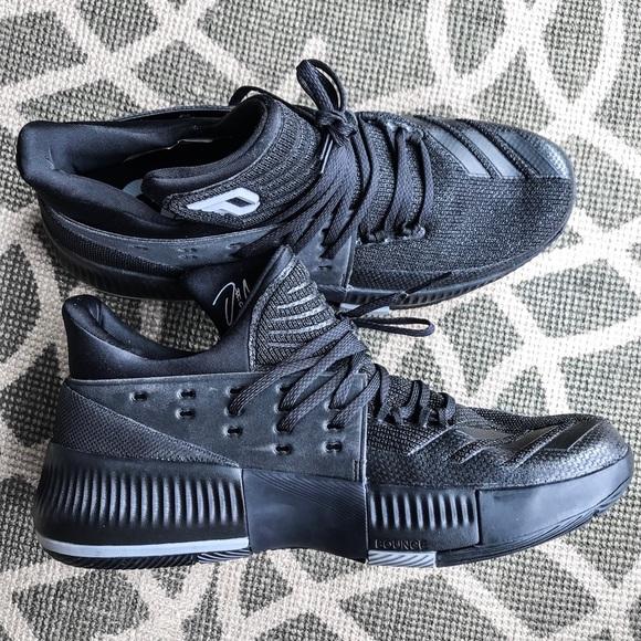 uk availability 330e0 02b03 Adidas Dame 3 Damian Lillard Basketball Shoes 10.5